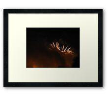 Fireworks I Framed Print