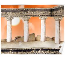Parthenon Interior Poster