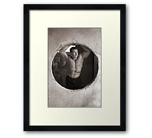 Round and Around Framed Print