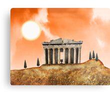 Parthenon Exterior Metal Print