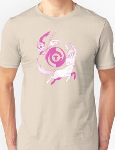 Conjectural Mythology-- Pink Unisex T-Shirt