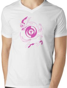 Conjectural Mythology-- Pink Mens V-Neck T-Shirt