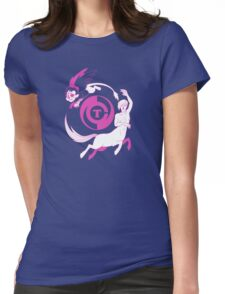 Conjectural Mythology-- Pink Womens Fitted T-Shirt