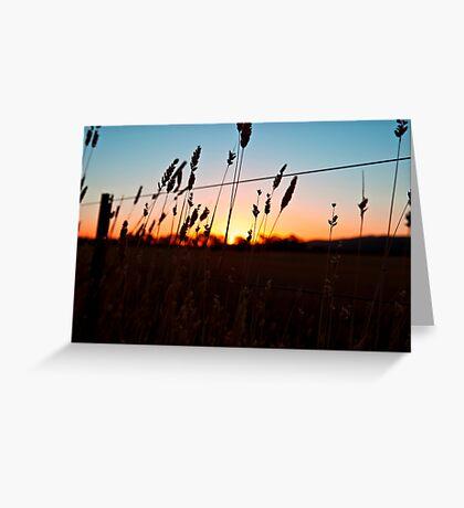Shadow Plains Greeting Card