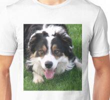 Laddie at play. Unisex T-Shirt