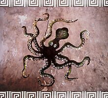Minoan Octopus by Stijn Van Elst