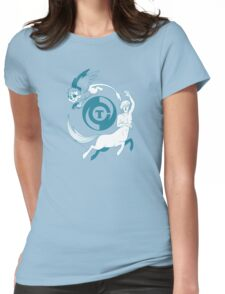 Conjectural Mythology-- Blue Womens Fitted T-Shirt