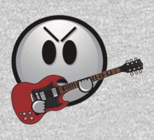 The angry guitar face by Daaxx