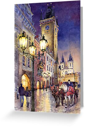 Prague Old Town Square 3 variant by Yuriy Shevchuk