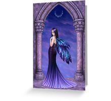 Mystique Galaxy Wing Fairy Greeting Card