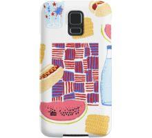 Picnic 4th of July Samsung Galaxy Case/Skin