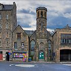The bottom of Candlemaker Row by Tom Gomez