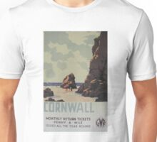 Cornwall- Penny a mile! Unisex T-Shirt