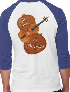 Go For Baroque Men's Baseball ¾ T-Shirt