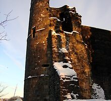 Strathaven Castle by Lewis MacKenzie