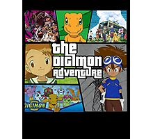 Digimon Adventure (GTA V Parody) Fan Made Photographic Print