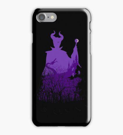 Midnight Maleficent iPhone Case/Skin
