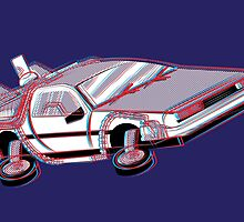 3-Delorean by SaltySteveD