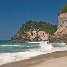 Whiritoa Beach by Paul Mercer