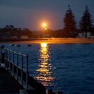 Beachport Jetty at night by Scott Pounsett