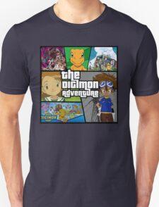 Digimon Adventure (GTA V Parody) Fan Made T-Shirt