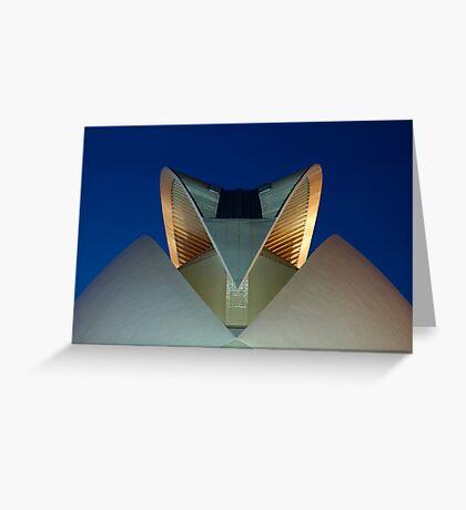 Palau De Les Arts - The Feather - CAC Greeting Card
