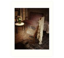 A Ghostly Experience Art Print