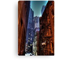 Gotham Alley Canvas Print