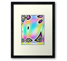Rainbow Pastel-Available As Art Prints-Mugs,Cases,Duvets,T Shirts,Stickers,etc Framed Print