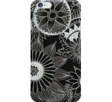 Circle doodles iPhone Case/Skin