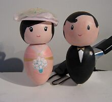 Little We Wedding Dolls 3 by Suzi Linden