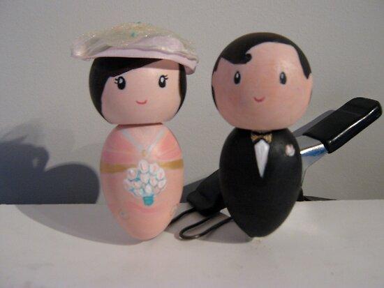 Little We Wedding Dolls 3 by Suzi Linden