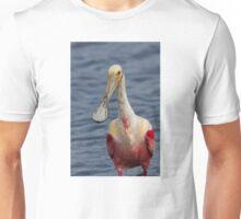 Spoonbill Portrait Unisex T-Shirt