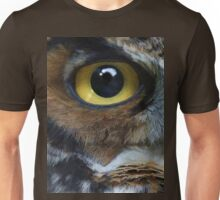 Great Gray Owl Eyes Unisex T-Shirt