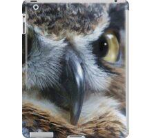 Great Gray Owl Eyes iPad Case/Skin