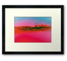 Deep Red Sky-Available As Art Prints-Mugs,Cases,Duvets,T Shirts,Stickers,etc Framed Print