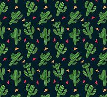 Cactus Fiesta by haidishabrina