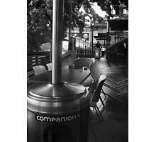 My Only Companion Photographic Print