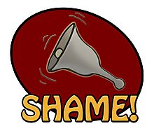 Shame! *ding-a-ling* Photographic Print