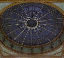 Ceiling Roundel (Waverley Railway Station, Edinburgh) by armadillozenith