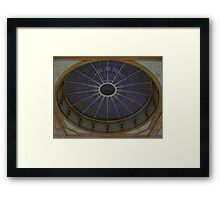Ceiling Roundel (Waverley Railway Station, Edinburgh) Framed Print