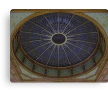 Ceiling Roundel (Waverley Railway Station, Edinburgh) Canvas Print