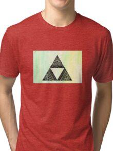 Legends of Zelda Zentagle Triforce Tri-blend T-Shirt
