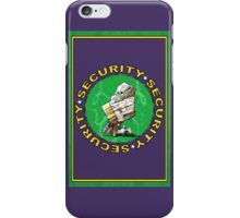 Bear & Blanket Security Services (1) iPhone Case/Skin