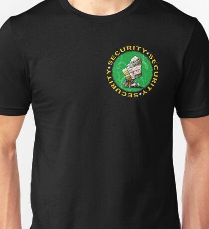 Bear & Blanket Security Services (1) Unisex T-Shirt