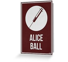 ALICE BALL - Women In Science Collection Greeting Card
