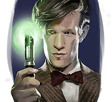 The Eleventh Doctor by Anaelisch