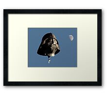 May the Force be with You! Framed Print