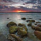 Smoldering dusk by Ken Wright