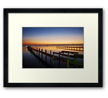 A Place to Ponder Framed Print